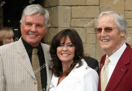 Jess Conrad, Vicky Michelle and Nicholas Parsons