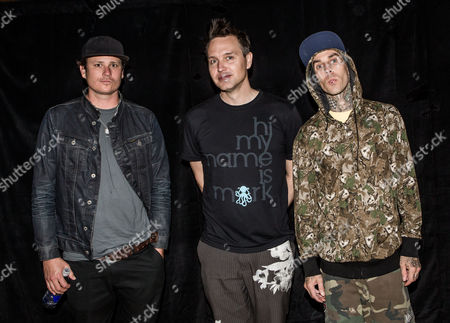 Blink 182 - Tom DeLonge, Mark Hoppus, Travis Barker