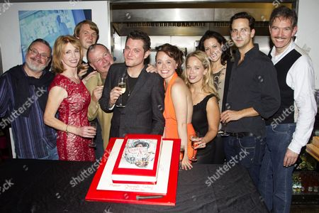 Editorial image of 'Charley's Aunt' play after party at the Menier Chocolate Factory, London, Britain - 01 Oct 2012