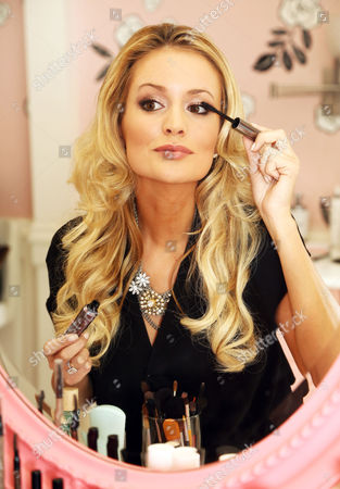 Editorial picture of Emily Maynard of 'The Bachelorette' receives a makeover at Benefit Cosmetics, New York, America - Oct 2012