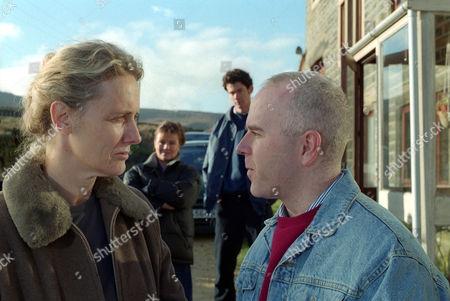 Barbara Marten as Frances Barrow and Chris Hargreaves as Thomas Barrow