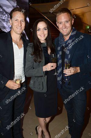 Brendan Cole, Victoria Pendleton and Dean Piper