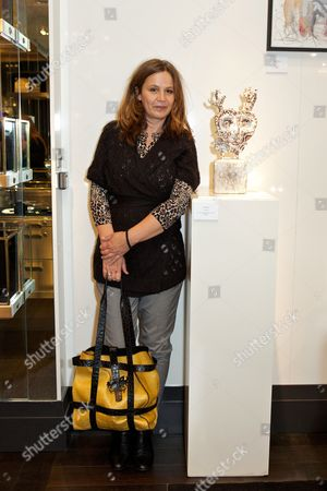 Editorial photo of Art at Annoushka 'Outside in Chelsea' exhibition party, London, Britain - 02 Oct 2012