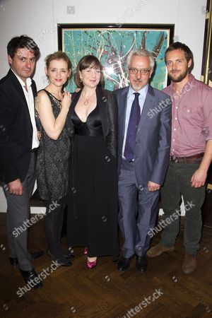 Dominic Rowan (Anthiochus), Anne-Marie Duff (Berenice), Josie Rourke (Director), Alan Hollinghurst (Adaptation) and Stephen Campbell Moore (Titus)