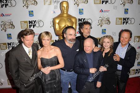 Cary Elwes, Robin Wright Penn, Mandy Patinkin, Rob Reiner, Chris Sarandon, Wallace Shawn, Carol Kane, and Billy Crystal