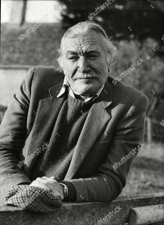 Stock Picture of Nigel Davenport Actor.