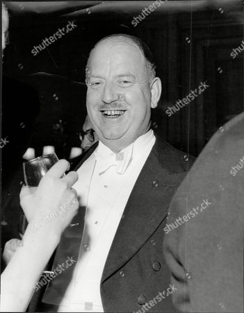 Dr Richard Beeching (baron Beeching) Chairman Of British Rail (dead March 1985) At A Dinner Given By The National Farmers Union.