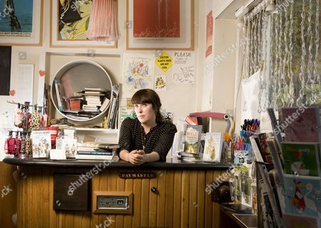 Editorial photo of Evie Wyld at the Review book shop, Peckham Rye, south east London, Britain - Sep 2012