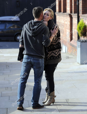 Catherine Tyldesley and Sam Witter.