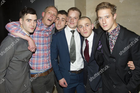 Cian Barry (Keith), Laurence Fox (Joe), Matthew Lewis (Mick), Jolyon Coy (Potential Officer Menzies), Lewis Reeves (Ian) and Arthur Darvill (Parry)