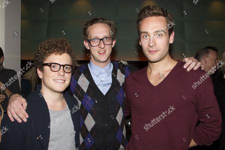 Joshua McGuire, Leo Bill and Tom Mison