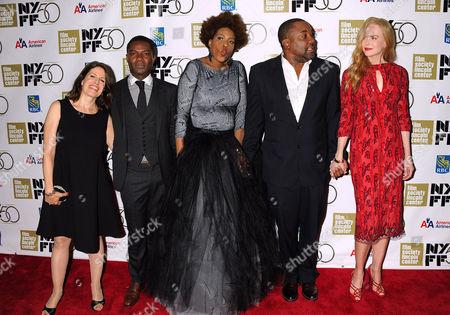 Stock Picture of Nealla Gordon, David Oyelowo, Macy Gray, Lee Daniels and Nicole Kidman
