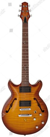 Stock Picture of A Carvin Frank Gambale Fg1 Electric Guitar Photographed During A Studio Shoot For Guitarist Magazine August 17