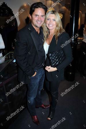 Tina Hobley and husband Oli Wheeler