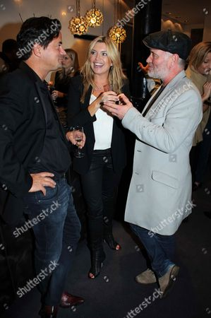 Oli Wheeler, Tina Hobley and Mark Cook