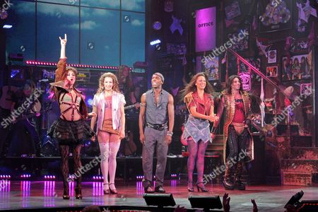 Editorial image of 'Rock of Ages' Military Night, New York, America - 03 Oct 2012