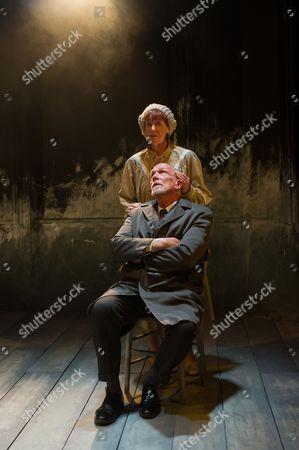 'A Life' - Judith Coke (Dolly) and Hugh Ross (Drumm).