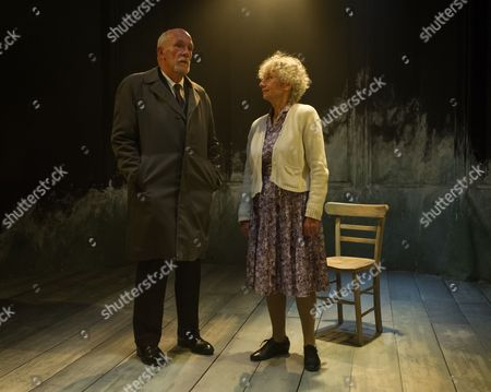 'A Life' - Hugh Ross (Drumm) and Kate Binchy (Mary).