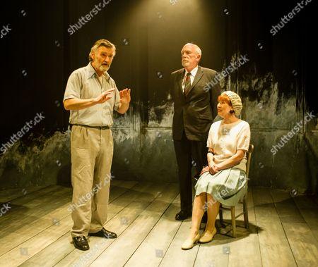 'A Life' - Neil McCaul (Kearns), Hugh Ross (Drumm) and Judith Coke (Dolly).