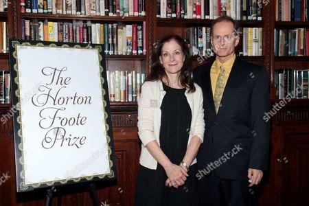 Hallie Foote and Devon Abner