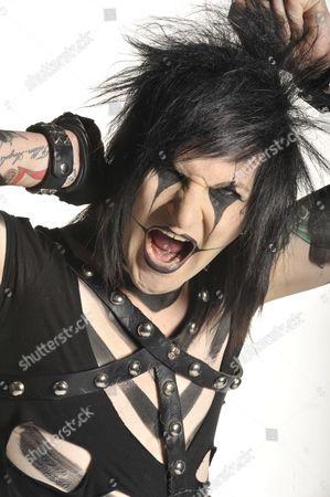 Jinxx Of American Glam Rock Band Black Veil Brides Session For Metal Hammer Magazine