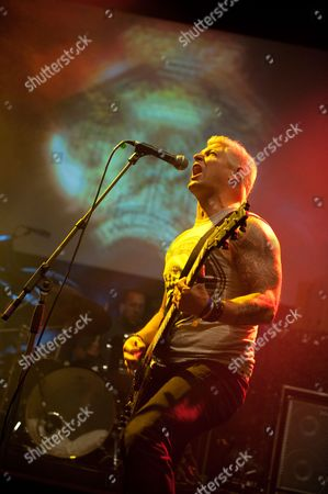 London United Kingdom - June 11: Billy Graziadei Of American Heavy Metal Band Biohazard Performing Live Onstage At The Metal Hammer Golden Gods Awards June 11