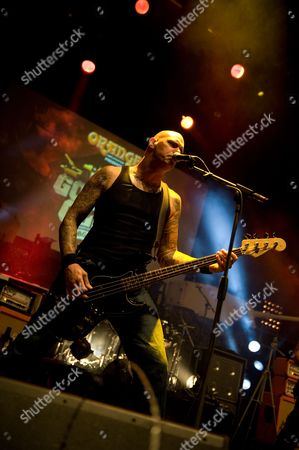 Stock Picture of London United Kingdom - June 11: Scott Roberts Of American Heavy Metal Band Biohazard Performing Live Onstage At The Metal Hammer Golden Gods Awards June 11
