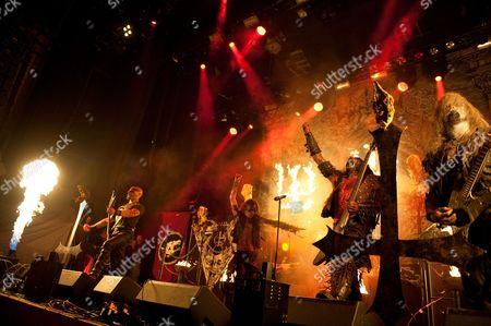 Editorial image of Metal Hammer Golden Gods Awards 2012 - Watain