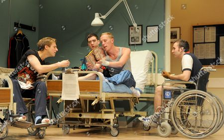 'Our Boys' - Arthur Darvill as Parry, Cian Barry as Keith, Laurence Fox as Joe and Matthew Lewis as Mick
