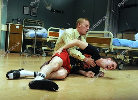 'Our Boys' - Laurence Fox as Joe and Cian Barry as Keith