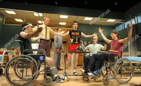 'Our Boys' - Matthew Lewis as Mick, Laurence Fox as Joe, Jolyon Coy as POM, Cian Barry as Keith, Lewis Reeves as Ian and Arthur Darvill as Parry