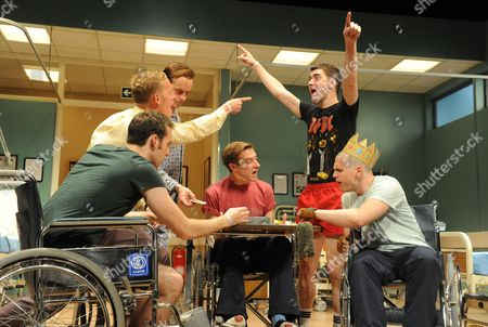 'Our Boys' - Matthew Lewis as Mick, Laurence Fox as Joe, Jolyon Coy as POM, Arthur Darvill as Parry, Cian Barry as Keith and Lewis Reeves as Ian