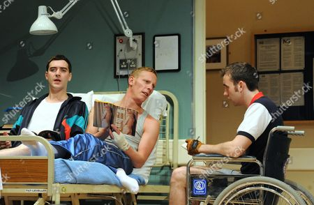 'Our Boys' - Cian Barry as Keith, Laurence Fox as Joe and Matthew Lewis as Mick