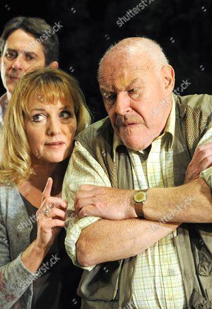 'The Handyman' - Adrian Lukis as Julian, Timothy West as Roman and Caroline Langrishe as Cressida