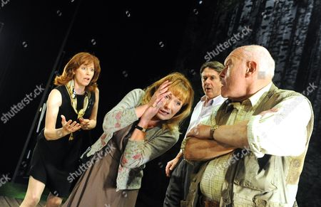 'The Handyman' - Carolyn Backhouse as Marian, Caroline Langrishe as Cressida, Adrian Lukis as Julian and Timothy West as Roman
