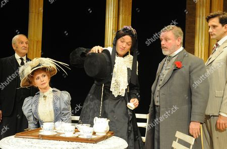'Charley's Aunt' - Charles Kay as Brassett, Jane Asher as Donna Lucia, Mathew Horne as Lord Fancourt and Norman Pace as Stephen Dominic Tighe as Jack