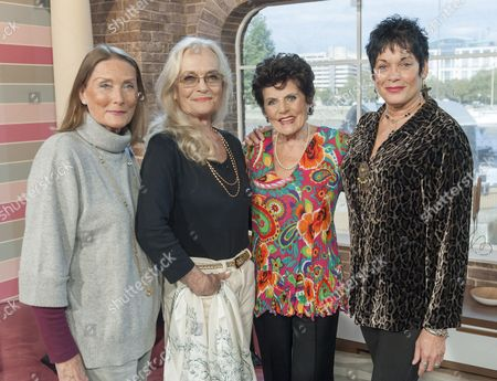 Tania Mallet, Shirley Eaton, Eunice Gayson and Martine Beswick.