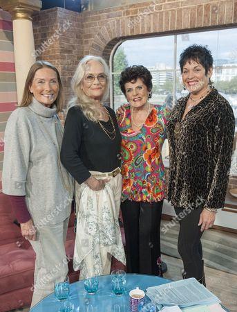 Tania Mallet, Shirley Eaton, Eunice Gayson and Martine Beswick.