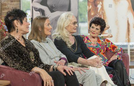 Martine Beswick, Tania Mallet, Shirley Eaton and Eunice Gayson