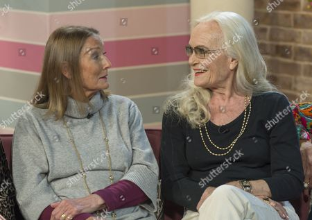Stock Photo of Tania Mallet and Shirley Eaton