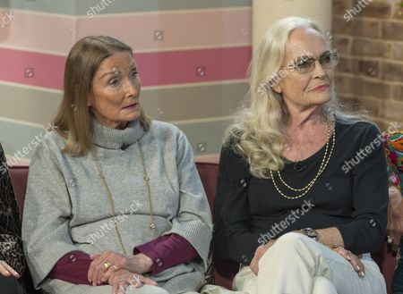 Tania Mallet and Shirley Eaton