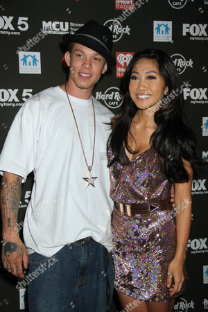Chris Rene and Julie Chang