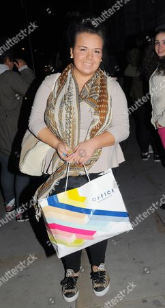 Editorial image of X Factor Contestants Returning to Their Hotel in London, Britain - 06 Oct 2012