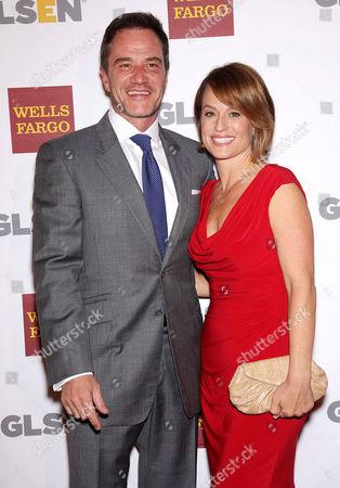 Stock Image of Tim Dekay & Elisa Taylor