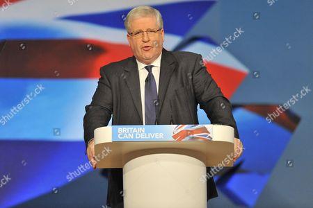 Patrick Allen McLoughlin MP, Secretary of State for Transport
