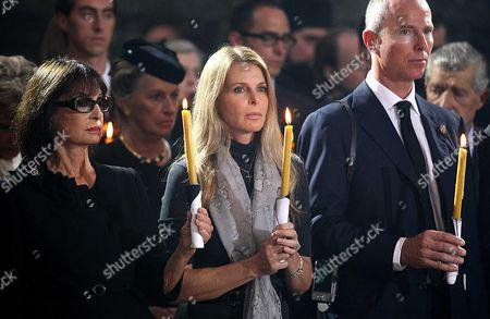 Editorial image of Funeral for reburial of Serbian Prince Pavle Karadjordjevic, Princess Olga and their son Nikola, Topola, Serbia - 06 Oct 2012