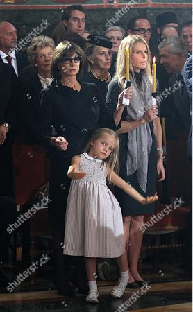 Stock Photo of Catherine Oxenberg (R), daughter of Princess Elizabeth Karadjordjevic (L), and daughter