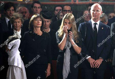 Editorial picture of Funeral for reburial of Serbian Prince Pavle Karadjordjevic, Princess Olga and their son Nikola, Topola, Serbia - 06 Oct 2012