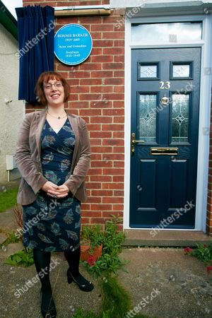 Editorial photo of Blue Plaque for Ronnie Barker's old house, Cowley, Oxford - 29 Sep 2012