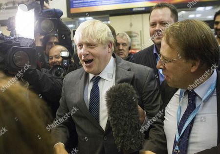 Boris Johnson and Michael Crick